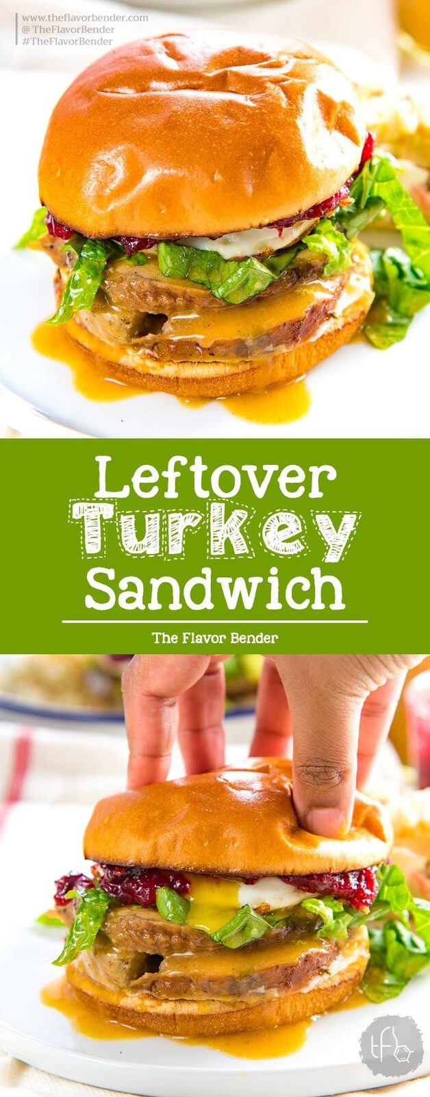 Leftover Turkey Sandwich - the easiest way to transform your Thanksgiving leftovers! This thanksgiving leftovers brunch sandwich is hearty, and delicious. Plus find out how to reheat turkey without drying it out. #ThanksgivingRecipes #ThanksgivingLeftovers #LeftoverTurkey #BrunchRecipes