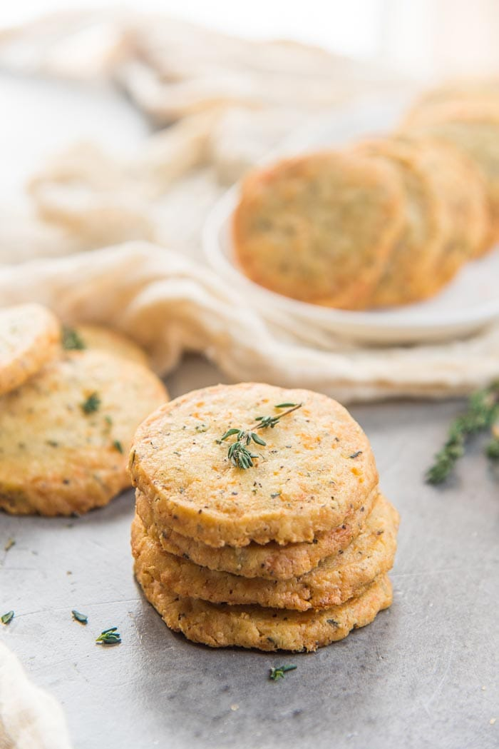 Thyme Cheddar Cheese Cookies