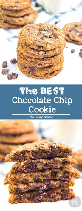BEST Chocolate Chip Cookies - Learn how to make perfect chocolate chip cookies with the most flavor! You can make them your own BEST chocolate chip cookies with all the tips I've shared.#ChocolateChipCookies #EasyChocolateChipCookies #ClassicChocolateChipCookies