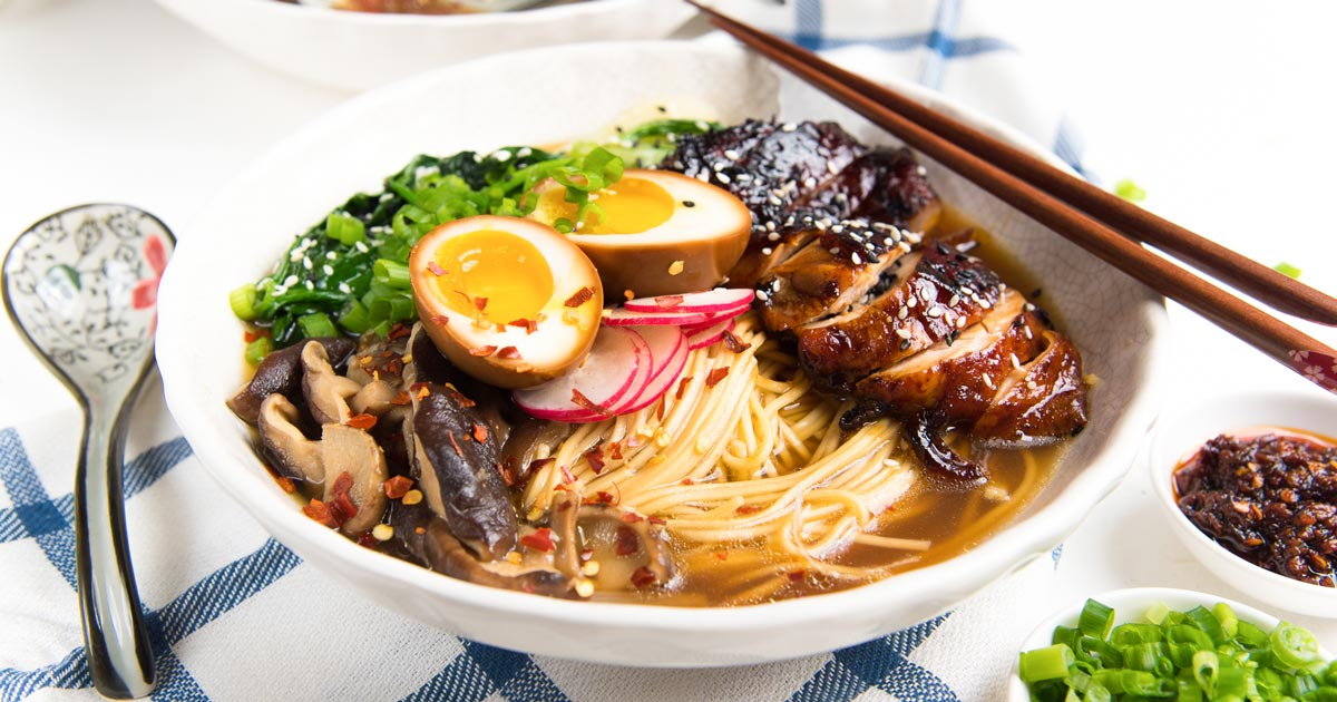 Easy Homemade Chicken Ramen - The