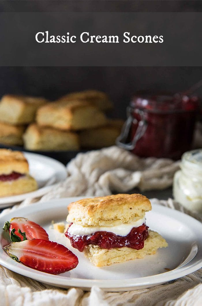 Featured Image Classic Cream Scones