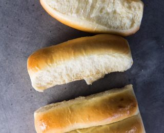 New England Hot Dog Buns - A lobster roll is not complete without these lobster roll buns! Easy to make, soft, buttery and delicious. Perfect for lobster rolls or as hot dog buns.