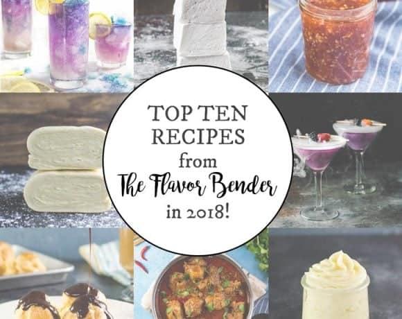 Top ten favorite recipes on The Flavor Bender