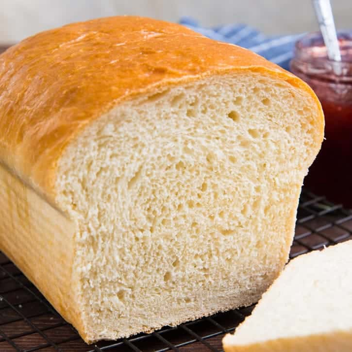 The Best Homemade Bread White Bread Recipe The Flavor Bender