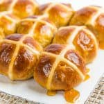 The best classic spiced hot cross buns recipe with step by step instructions, and is easy to follow. Soft and fluffy and incredibly delicious.