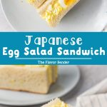 Japanese Egg Salad Sandwich Pinterest