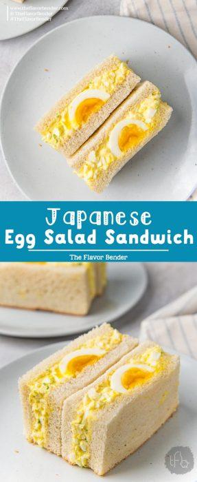 Japanese Egg Salad Sandwich Pinterest