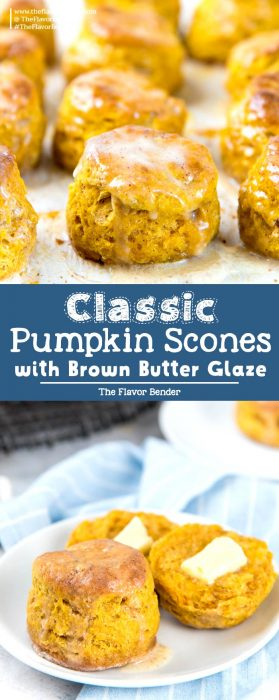 Pumpkin scones Pin
