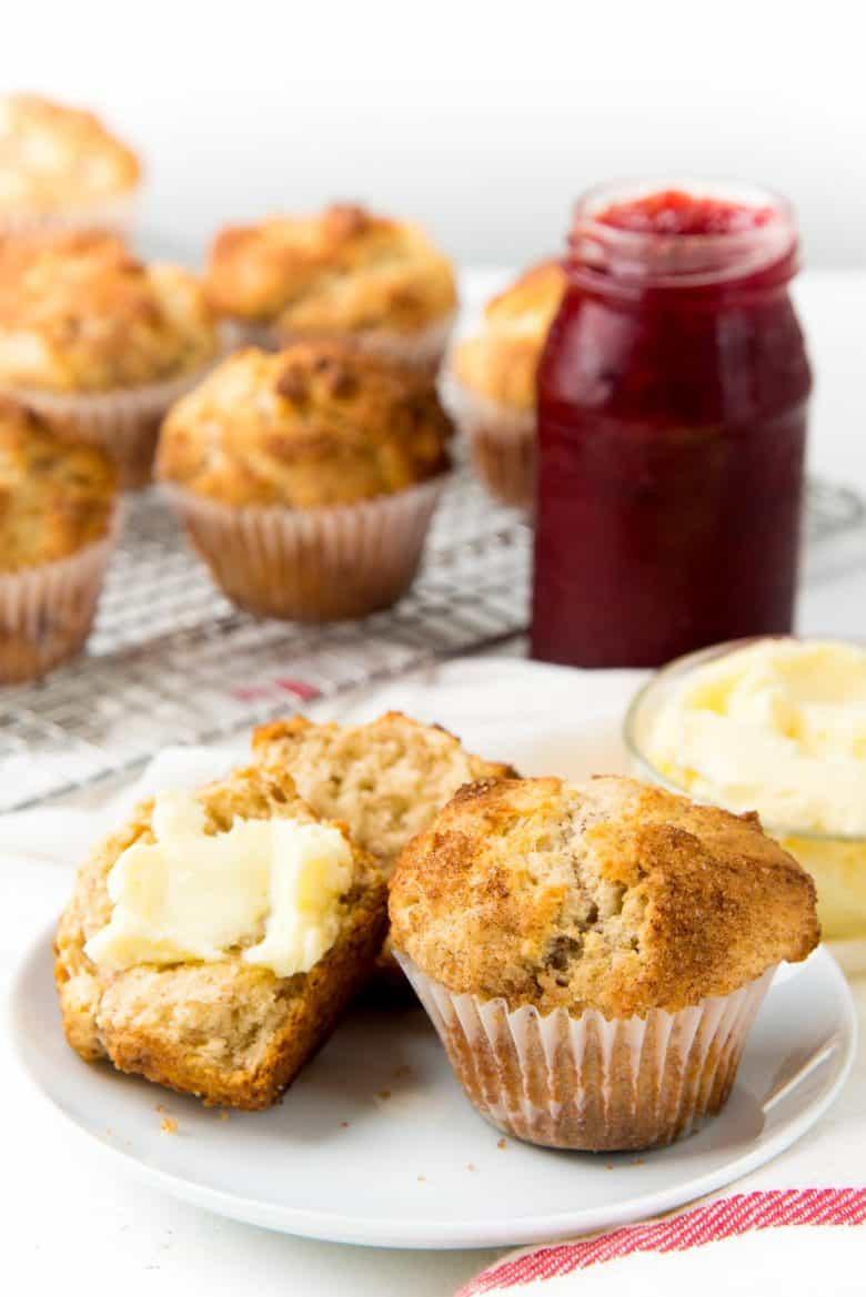 Basic Cinnamon Muffins