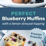 Blueberry muffins pinterest