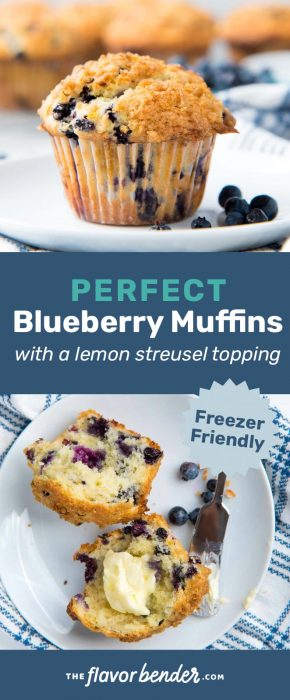 Blueberry muffins pinterest