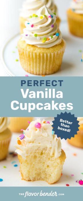 Vanilla Cupcakes Or Triple Vanilla Cupcakes