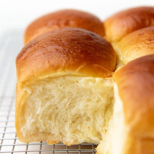 Japanese Milk Bread Recipe Hokkaido Milk Bread The Flavor Bender