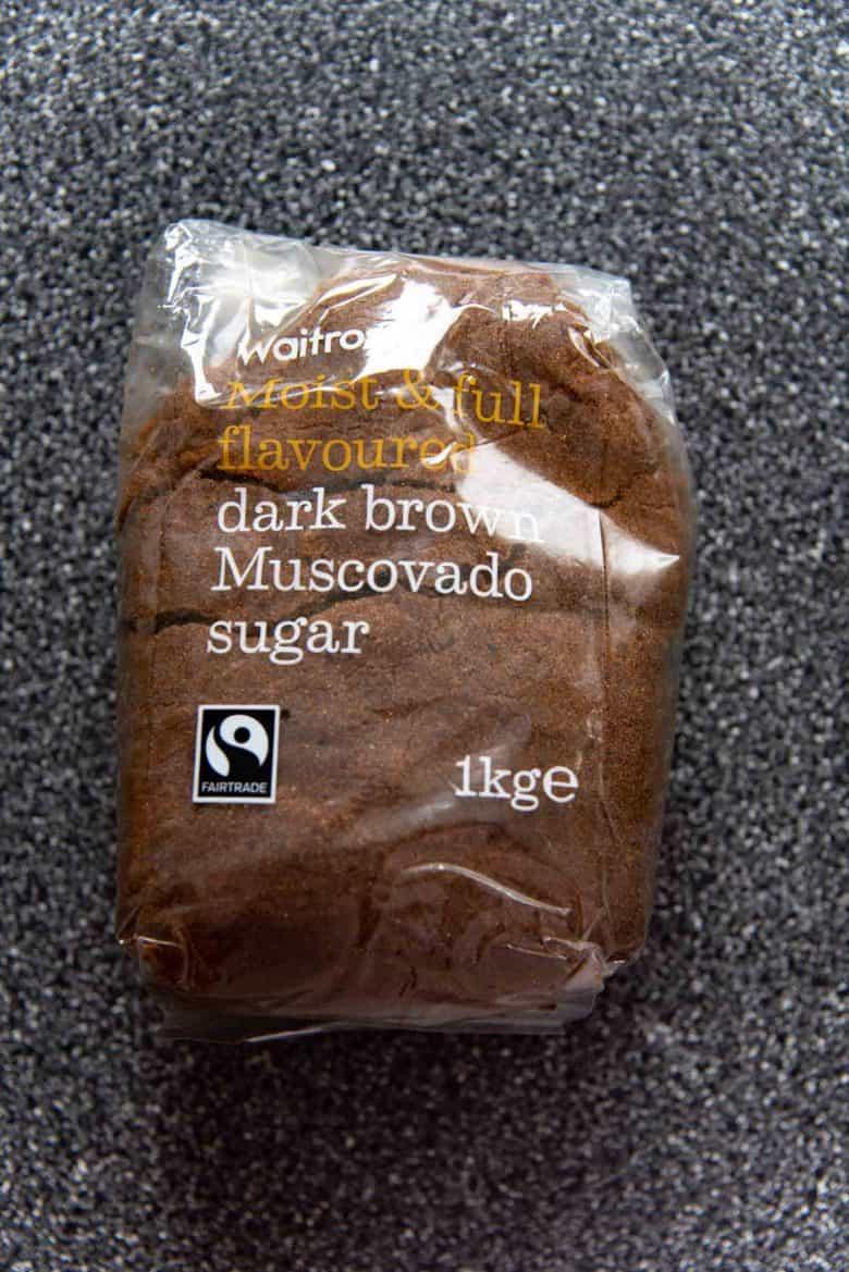 Muscavado brown sugar