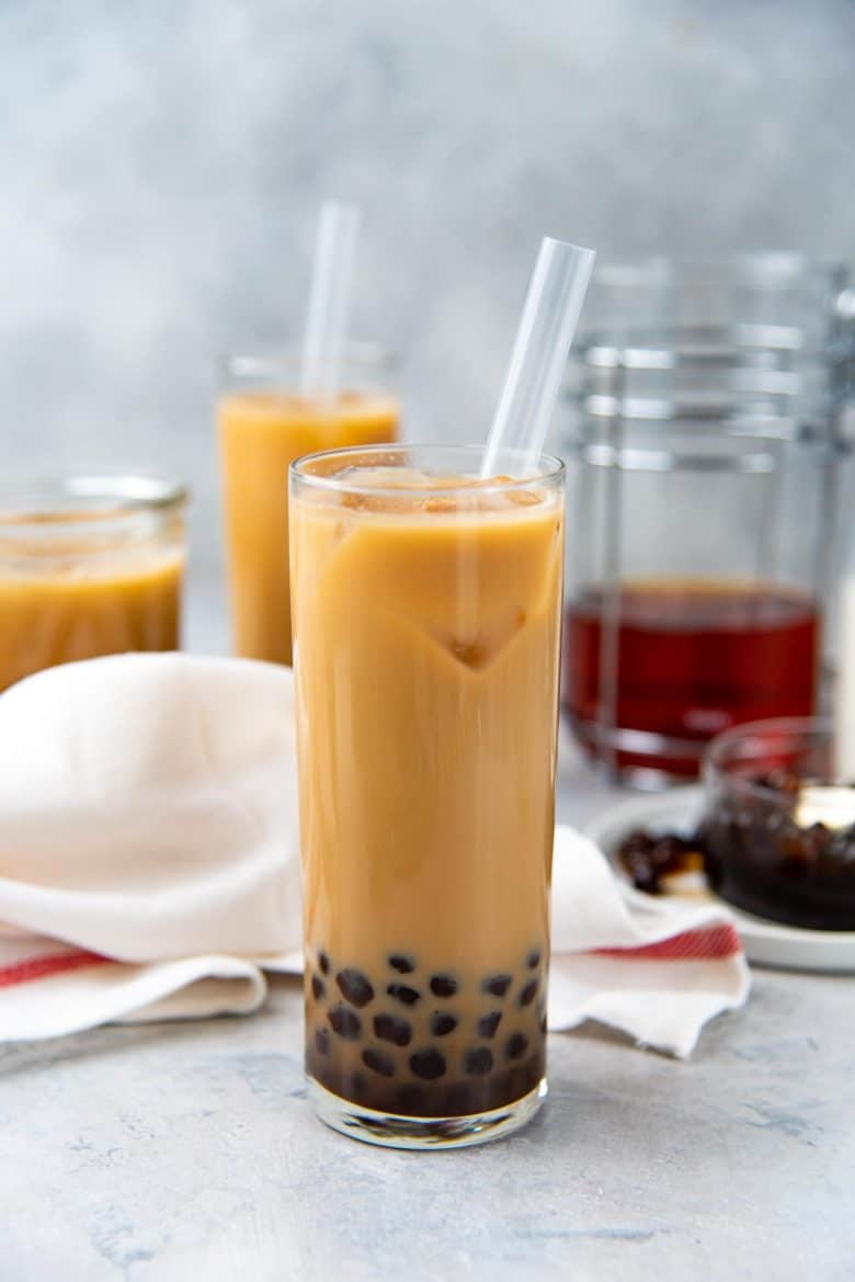 Bubble Milk Tea Bubble Tea Recipe The Flavor Bender