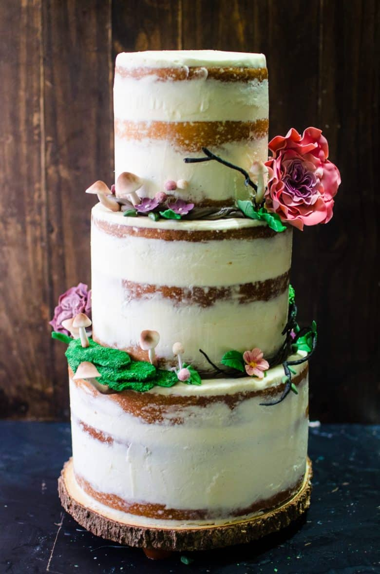 Wedding cake made by me