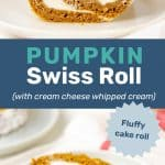 Pumpkin swiss roll pin