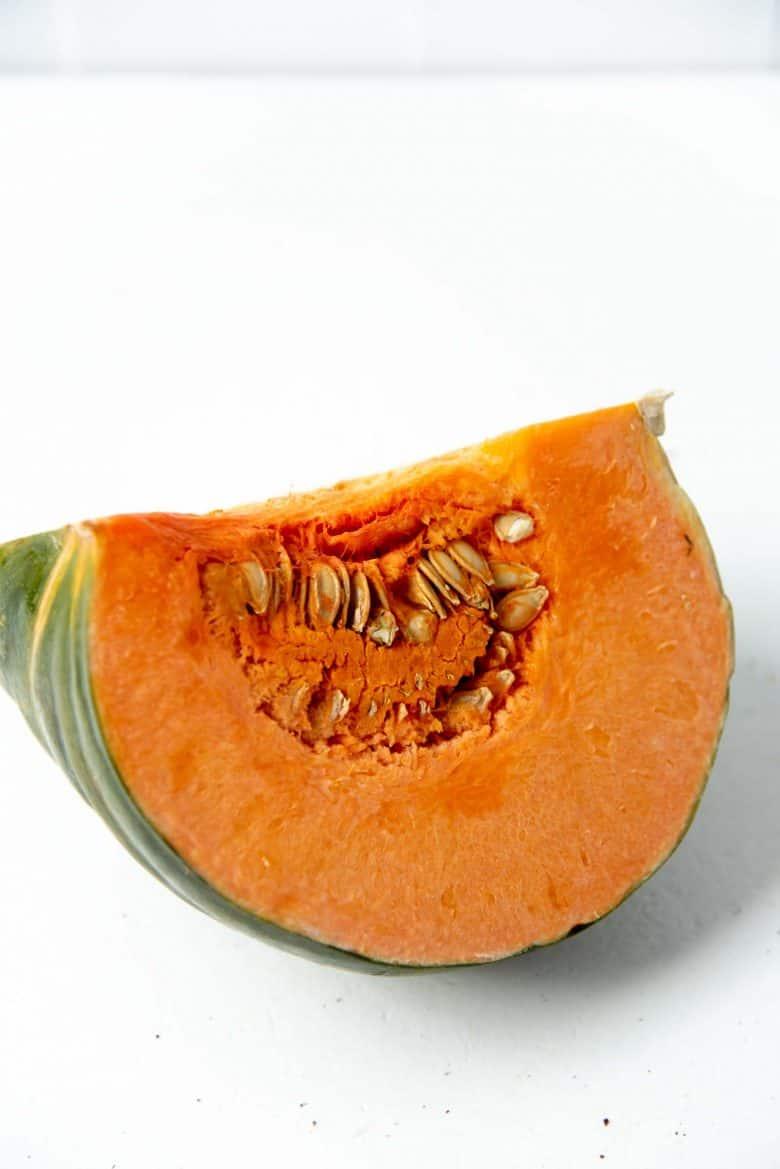 A large section of Jamaican Pumpkin (Calabaza)