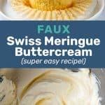 Easy swiss meringue buttercream frosting social media