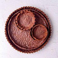 Chocolate Pate sucree dough social media
