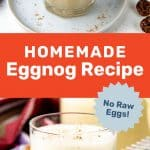 Homemade Eggnog Recipe Social Media
