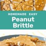 Peanut brittle social media