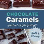 Chocolate Caramels Social media