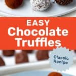 Chocolate Truffles social media