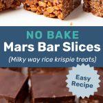 Mars bar slice social media
