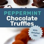 Peppermint Chocolate Truffle Social Media