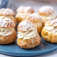 Cream puffs social media