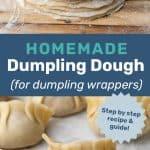 Dumpling dough social media