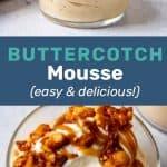 Butterscotch mousse Social Media