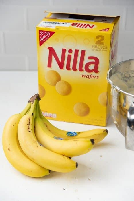 Bananas and nilla wafers