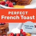 French toast social media