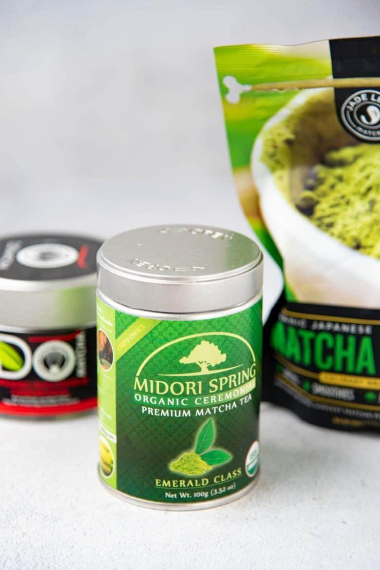 Matcha powder varieties