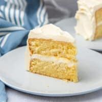 Best vanilla cake social media