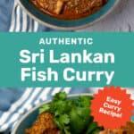 Sri Lankan Fish Curry Social Media